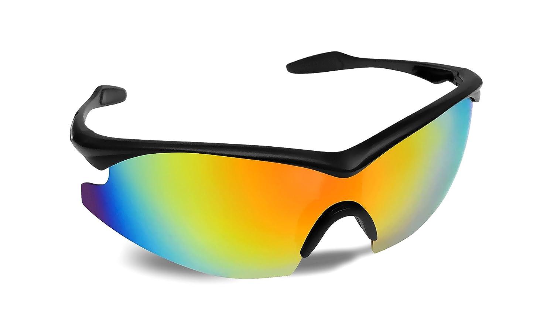 6941e7cb0191 Amazon.com  TAC GLASSES by Bell+Howell Sports Polarized Sunglasses for  Men Women