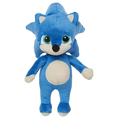 Sonic The Hedgehog 8.5 Inch Baby Sonic Plush: Toys & Games [5Bkhe1207090]