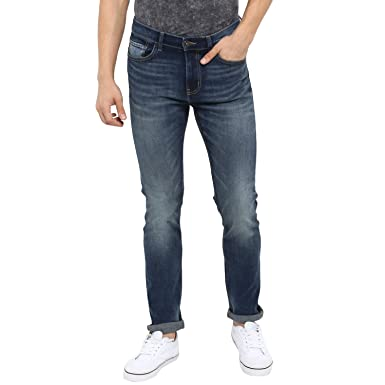 Red Tape Men's Skinny Fit Jeans Men's Jeans at amazon