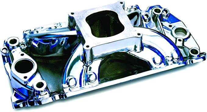 amazon com professional products 53030 polished hurricane intake manifold for big block chevy automotive amazon com