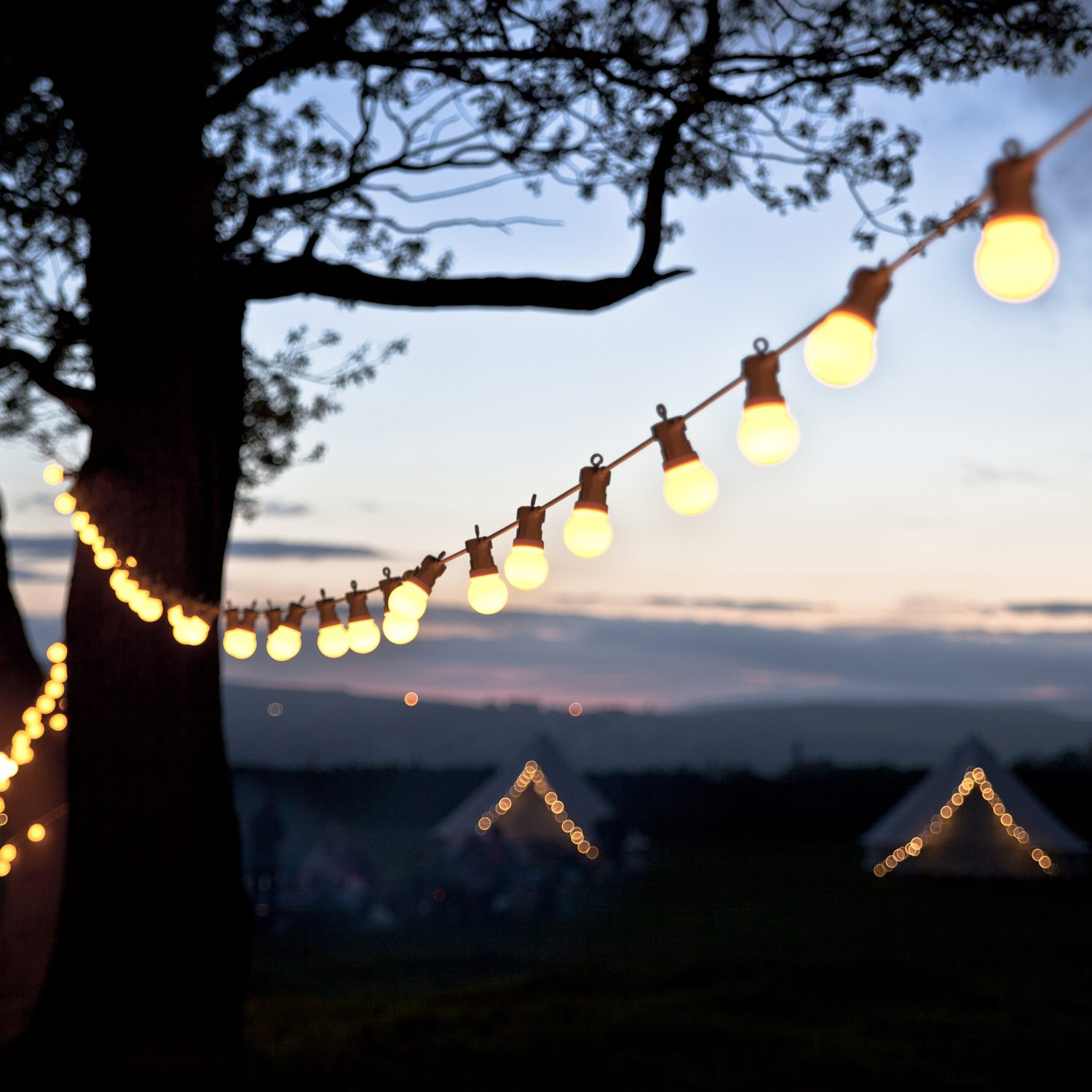 20 warm white led connectable festoon party lights on white cable 20 warm white led connectable festoon party lights on white cable type u for indoor outdoor use by lights4fun amazon garden outdoors mozeypictures Gallery