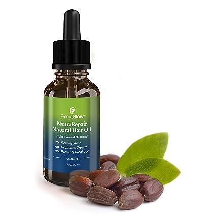 Primaglow Reparación de PrimaGlo natural del cabello aceite de pelo natural de NutraRepair (Maui)