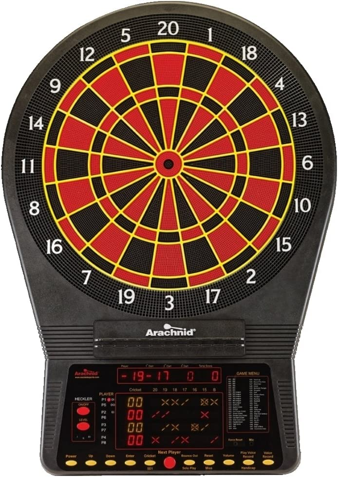 Arachnid Cricket Pro 900 Electronic Dart Board