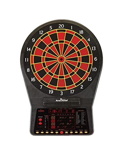 Cricket Pro 900 by Arachnid- Talking Electronic Dartboard, 15 5