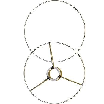 Lamp Shade Ring Set To Make A Diy Drum Ring Lamp Shade