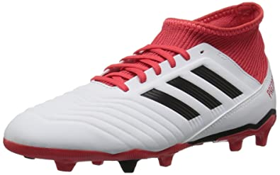 buy online d90d4 b28cf adidas Kids Unisex Predator 18.3 Firm Ground Soccer Cleats