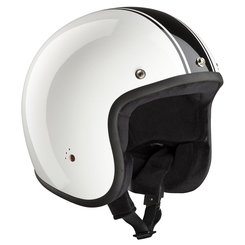 Bandit Helmets Motorradhelm ECE Jet ECE 22-05 gepr/üfter Jethelm in kleiner Bauweise