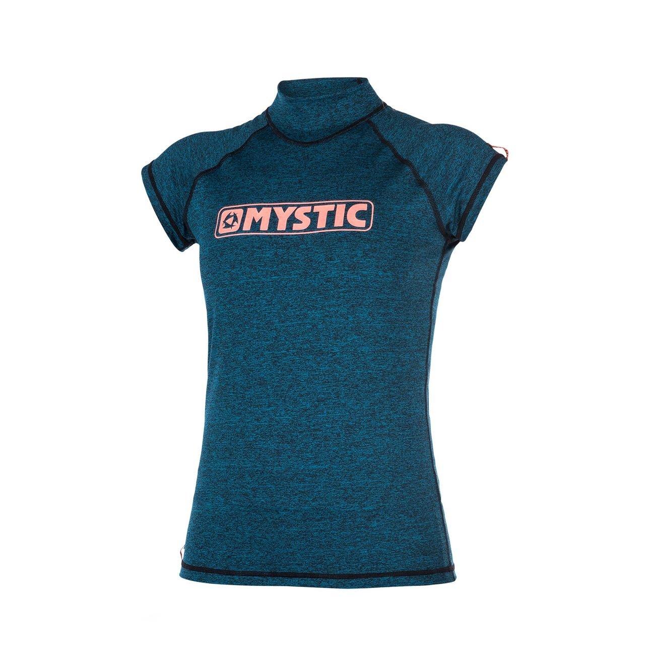 2017 Mystic Ladies Star Short Sleeve Rash Vest TEAL 170299