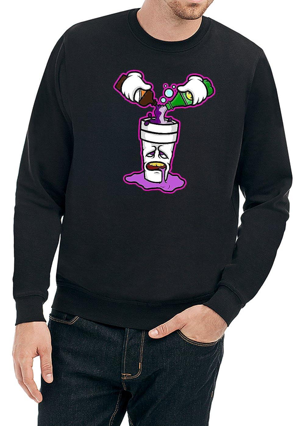 Certified Freak lila Drank Sweater schwarz B07CY581NS Sweatshirts Qualifizierte Herstellung