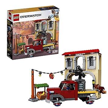 LEGO 75972 Overwatch Dorado Showdown Playset with Dorado-style building,  Truck and Soldier: 76, Reaper, McCree Minifigures