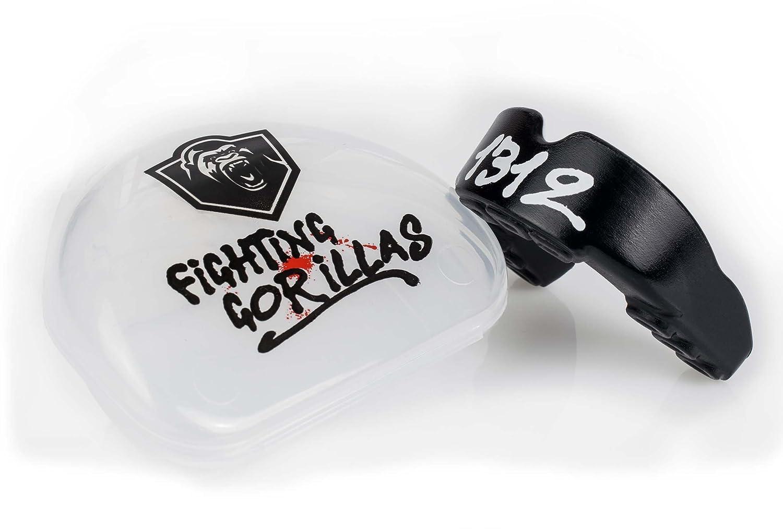 Zahnschutz Boxen, Mundschutz, MMA, Muay-Thay, Kick-Boxen, Kampfsport, Anpassbar inkl. Aufbewahrungsbox Fighting Gorillas