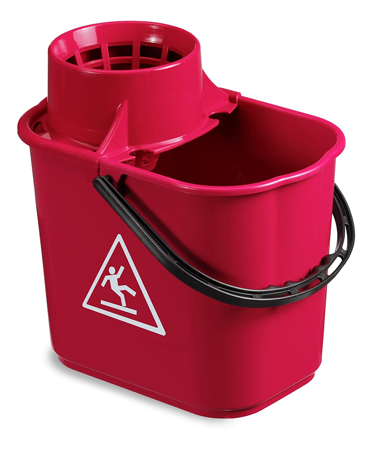 TTS 00005040 Strizzino Easy Bucket (14 Litres, Red TTS CLEANING S.R.L.