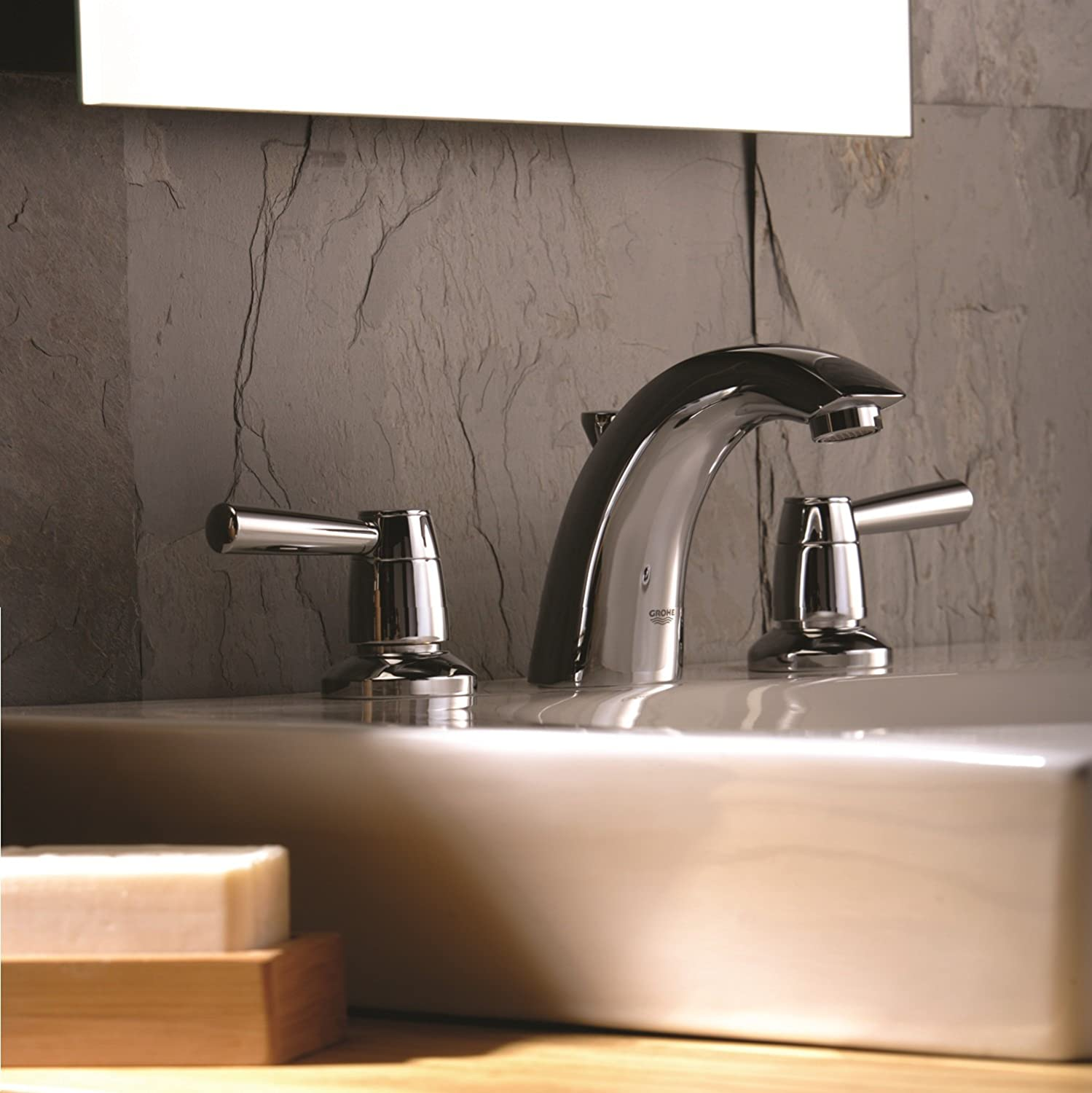 Arden 8 in. Widespread 2-Handle Bathroom Faucet - 1.5 GPM - Touch ...