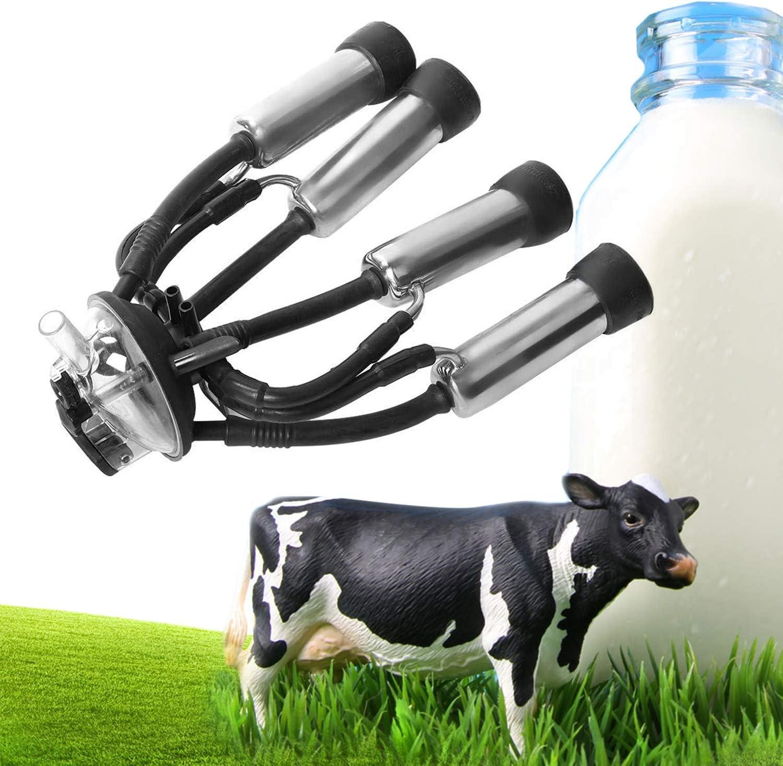 Colector de Leche Vaca, Ordeñadora Ovejas Ordeñadora Piezas de Repuesto Cluster Garra Leche con Base Plástico