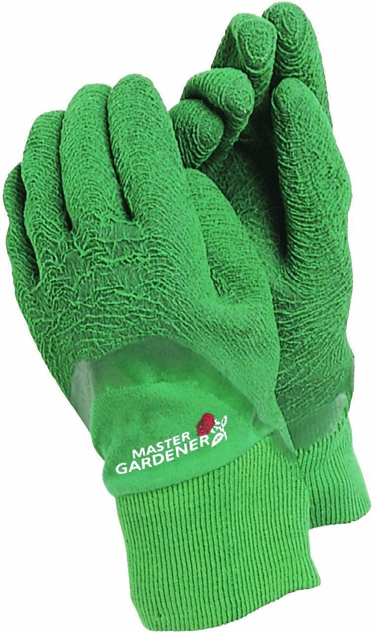 Town /& Country Master Gardener Gloves Mens Large Navy Blue Gardening