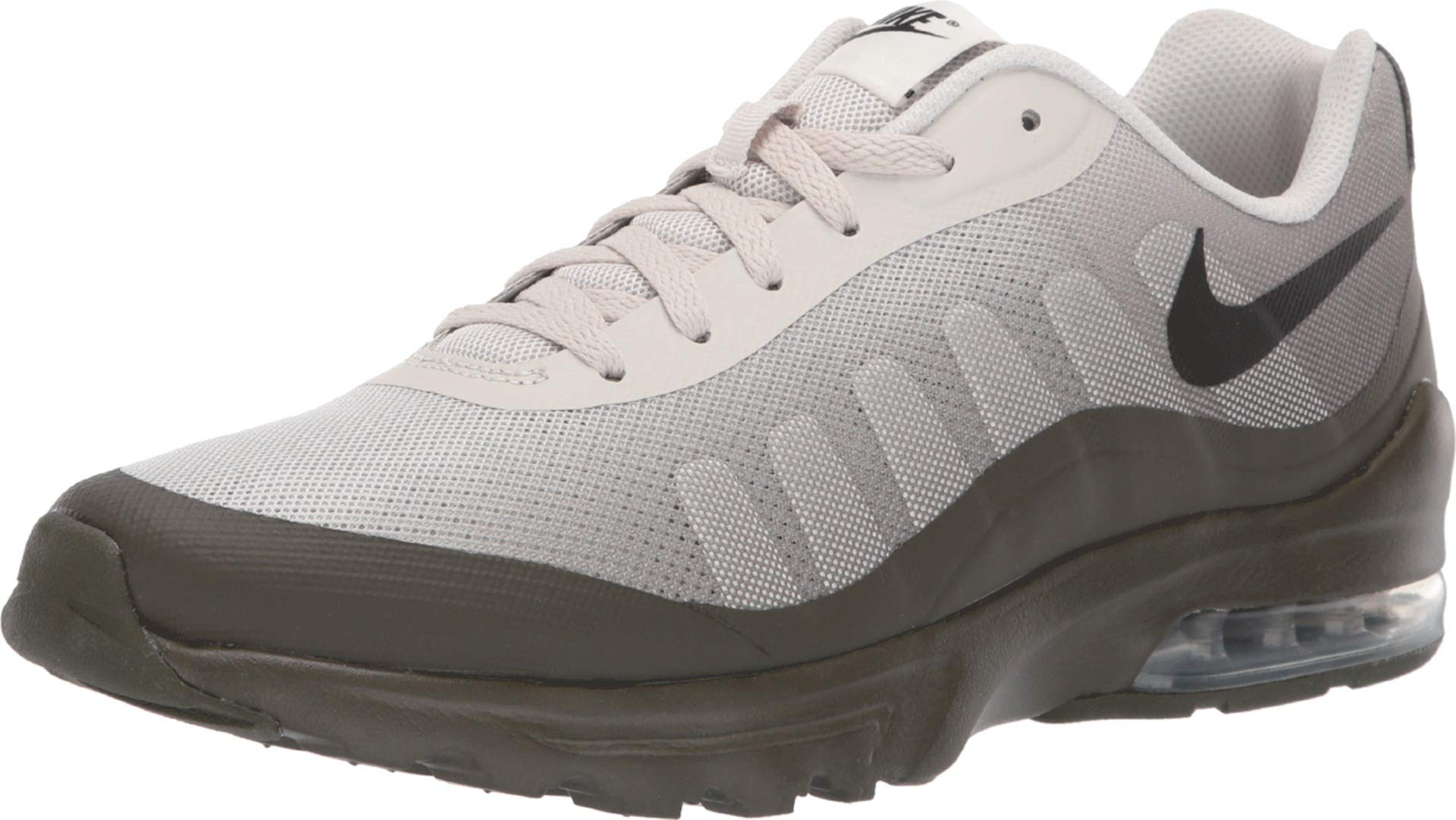 14cdecc188 Galleon - NIKE Men's Air Max Invigor Print Shoe Light Bone/Black/Cargo  Khaki Size 9 M US