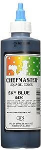 Chefmaster Liqua-Gel Food Color, 10.5-Ounce, Sky Blue