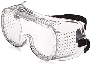 Neiko 53874A Protective Anti-Fog Safety Goggles with Wide-Vision, Extra Soft, Adjustable & Lightweight