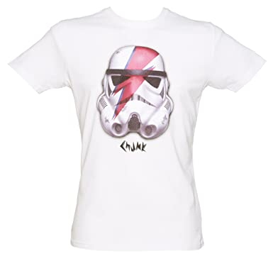 Image Unavailable. Image not available for. Color  Chunk Mens White Star  Wars Rebel Rebel Stormtrooper T Shirt from f7c741efd