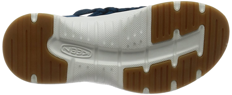 KEEN Women's Uneek o2-w Sandal B01H8HAADE 5 B(M) US Seaport/White