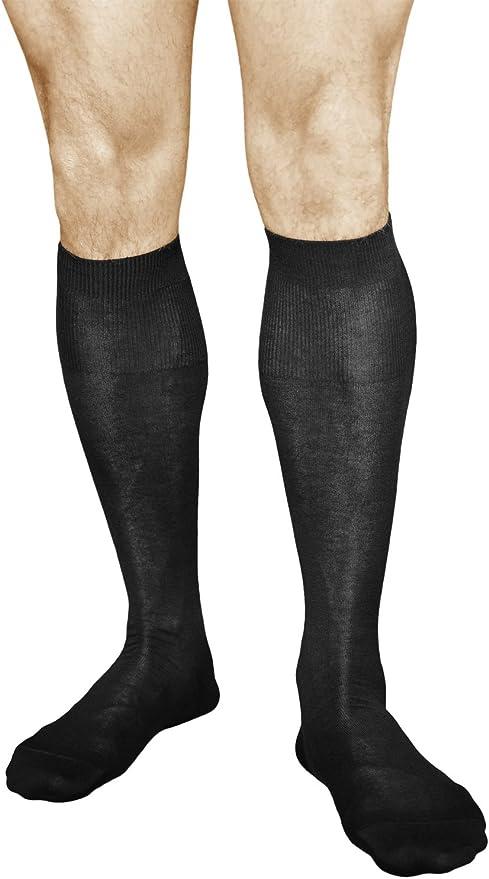 VITASOX B/ásico Calcetines hasta la rodilla para hombre
