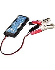 ANSMANN Power Check Kfz-Batterietester / Professionelles Testgerät für 12V Autobatterien / Ideal für Autofahrer und Service-Werkstatt / Zur Überprüfung von Ladezustand & Batterie-Belastbarkeit