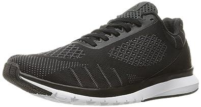 ca6fc7e6ccc800 Reebok Print Smooth Shoe - Men s Running 7 Black Alloy White Coal