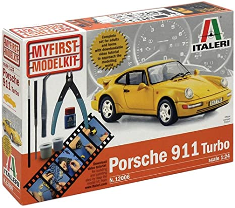 1:24 Scale My First Model Kit Porsche 911 Turbo
