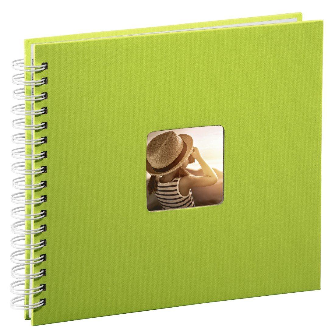 Hama Fine Art Papel Gris álbum de Foto y Protector - Álbum de fotografía (280 mm, 240 mm, Gris, Papel, 100 Hojas, 10 x 15 cm) 00002112