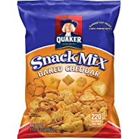 40-Count Quaker Baked Cheddar Snack Mix
