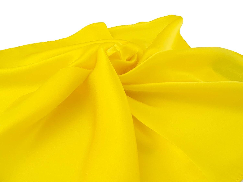 PB Pietro Baldini fazzoletto da collo giallo in 100/% seta,