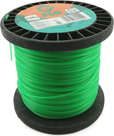 FLO 89441 - La línea de corte de hierba 2.0mmx120m / redondo ...
