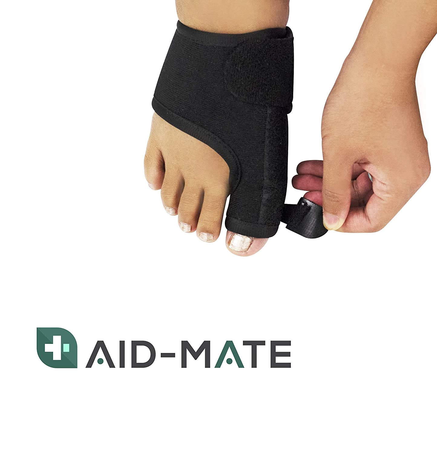 Amazon.com: Aid-Mate Bunion Corrector and Bunion Relief Kit | Bunion Splint | Toe Separators | Hammer Toe Straightener | Toe Spacers | Orthopedic Bunion ...