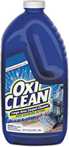 OxiClean Large Area Carpet Machine Cleaner, Liquid, 64 Oz