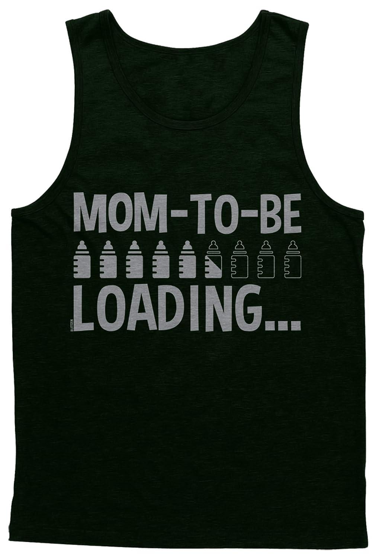 Blittzen Mens Tank Top Mom To Be Loading