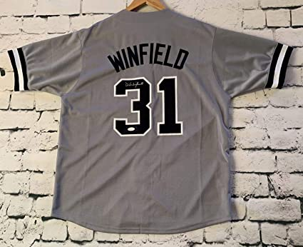 separation shoes 10ec2 23361 Dave Winfield Signed Autographed New York Yankees Throwback ...