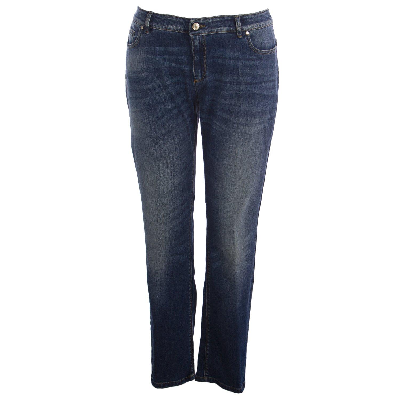 Marina Rinaldi Women's Idrofono Wonder Fit Jeans 24W / 33 Medium Wash