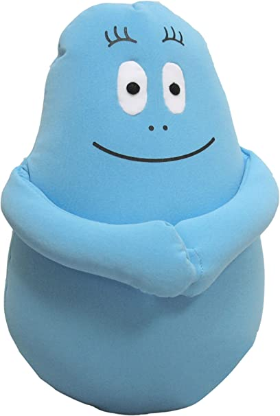 amazon barbapapa peluche blu