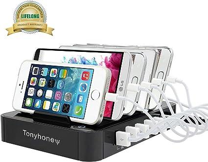 TONYHONEY Multi Ladestation, USB Ladestation iPhone