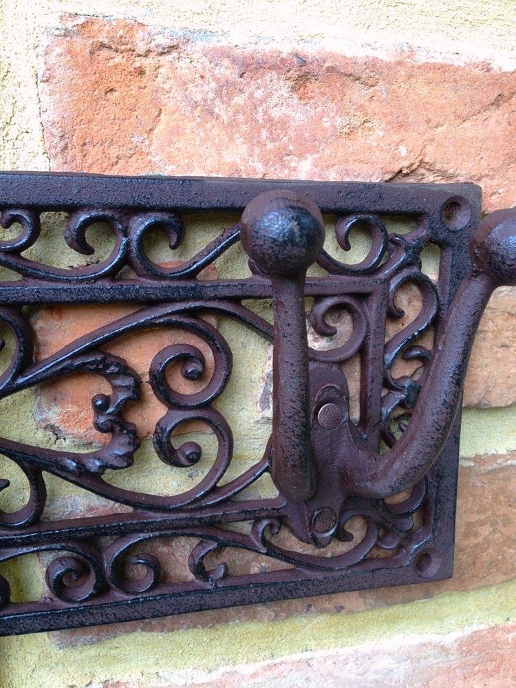 Nostalgie Ländliche Garderobe Wandgarderobe oder Aufhängung für Gartengeräte