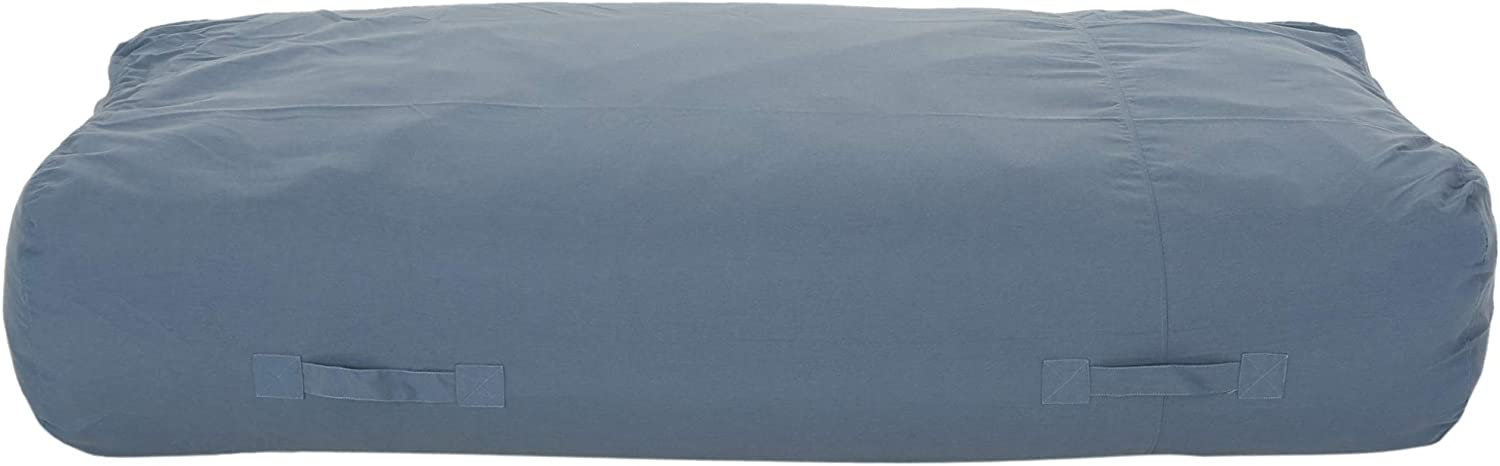 Christopher Knight Home 308041 Vivien Outdoor Water Resistant 6'x3' Lounger Bean Bag, Blue