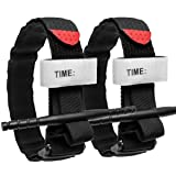 Tourniquet:Emergency Tourniquets, Combat Medical Tourniquet, Hiking First Aid Kit Military Tactical Tourniquet for Bleeding Control, Life Saving Hemorrhage Control, School Training (Black,2-Pack) (Color: Black, 2 Packs, Tamaño: 2 pack)