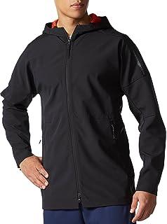adidas Men s Zero Negative Energy ZNE 90 10 Full Zip Bonded Jacket - Black ( 58da42567