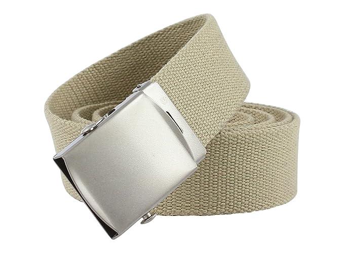 Cinturón correa de tejido estilo militar, 6colores, 120cm de largo y 3,5cm de ancho