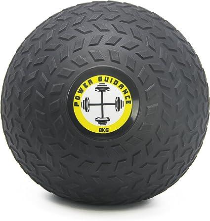 POWER GUIDANCE Slam Ball Balón Medicinal Antideslizante Ideal para ...