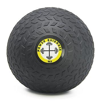 6ce6253c5a086 POWER GUIDANCE Slam Ball Balón Medicinal Antideslizante Ideal para los  Ejercicios de Functional Fitness - 3kg  Amazon.es  Deportes y aire libre