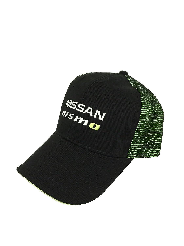 Amazon.com  Custom Nissan NISMO Mesh Snapback Cap - Green  Clothing 8a90264dd3e