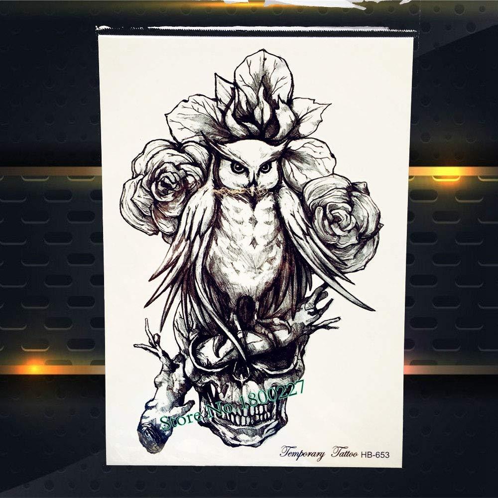 Zhuhuimin 5 Unidades/Set Moda Hombre Body Art Manga Brazo Tatuaje ...