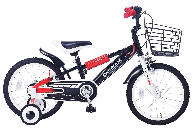My Pallas(マイパラス) 子供用自転車16 MD-10 B00MF1Z6R4 ブラック ブラック