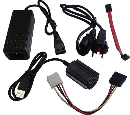Usb Adapter Zu Sata Ide 2 5 3 5 Mit Netzteil Computer Zubehör